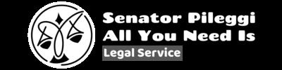 Senator Pileggi - All you need is legal service